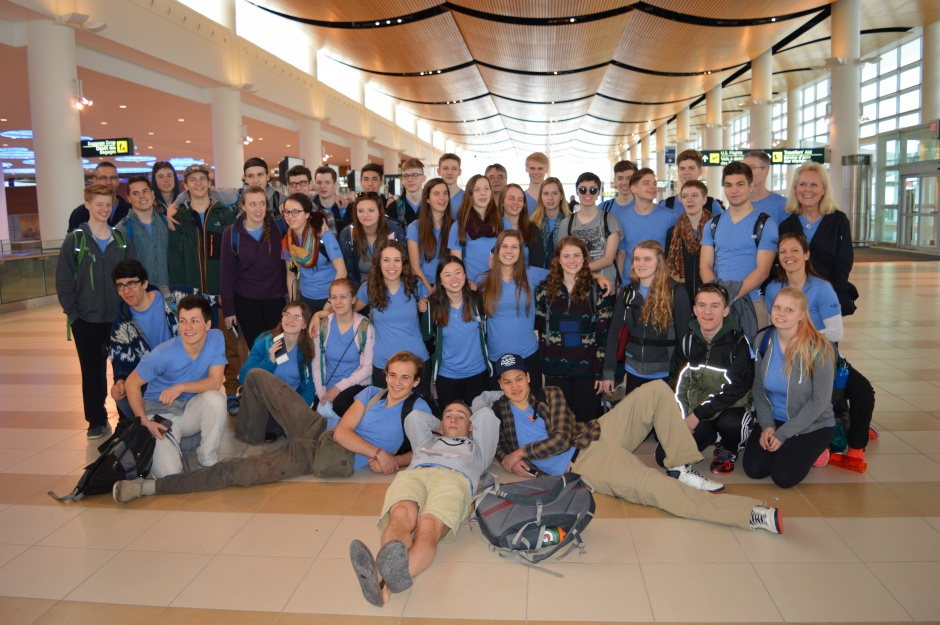 Middle East Group at Airport