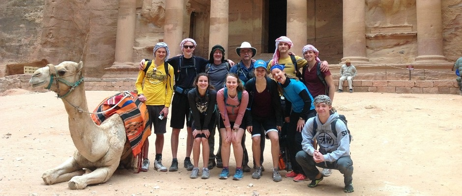 Group in Petra