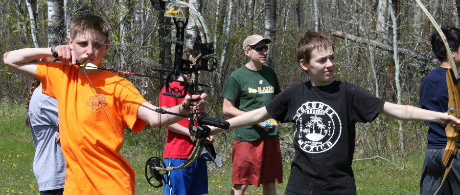 Gr. 9 Retreat - Archery
