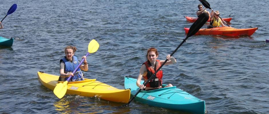 Gr. 9 Retreat - Kayaking