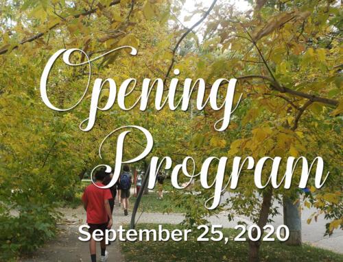 Opening Program 2020